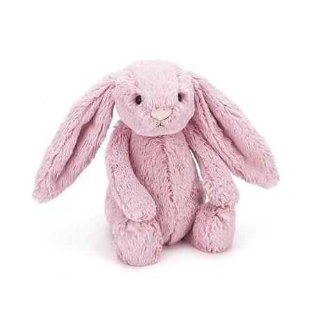 Jellycat Bashful bamse - Tulipan pink kanin - Lille