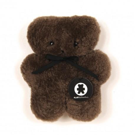 Chocolate Bearbaby bamse - FLATOUTbear