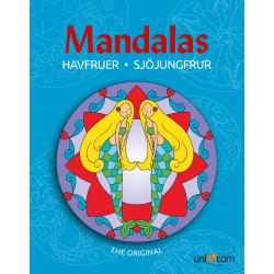 Havfruer malebog - Mandalas