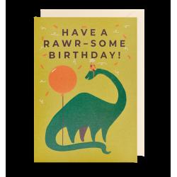 Have a rawr-some birthday! - Kort & kuvert - Lagom