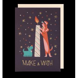 Make a wish! - Kort & kuvert - Lagom