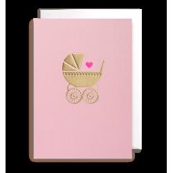 Baby Girl - Kort & kuvert - Lagom