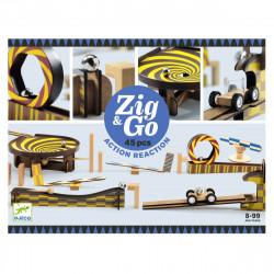 Zig & Go kuglebane - 45 dele - Djeco