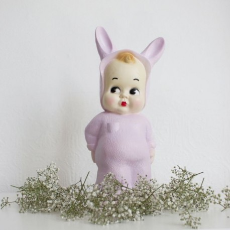 Baby Lapin lampe - Lys lilla