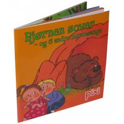 Bjørnen sover - og 6 andre børnesange - Pixi bog - Carlsen