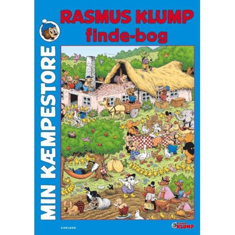 Min kæmpestore Rasmus Klump findebog - Carlsen