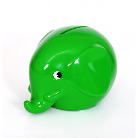 Norsu grøn elefant sparebøsse - Mini