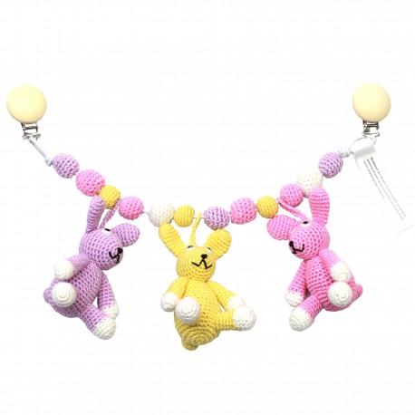 Nature ZOO barnevognsophæng - Pige Kaniner