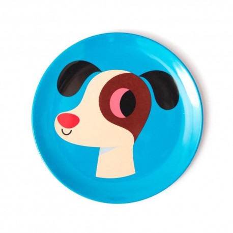 Ingela P. Arrhenius tallerken - Hund