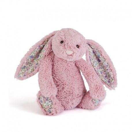 Jellycat Bashful bamse - Blossom Tulip kanin - Mellem