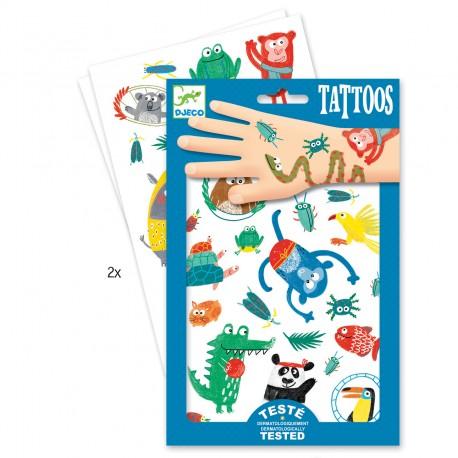 Djeco tatoveringer - Snuder