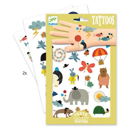Djeco tatoveringer - Små fine ting