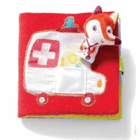 Alice i ambulance - Stofbog - Lilliputiens