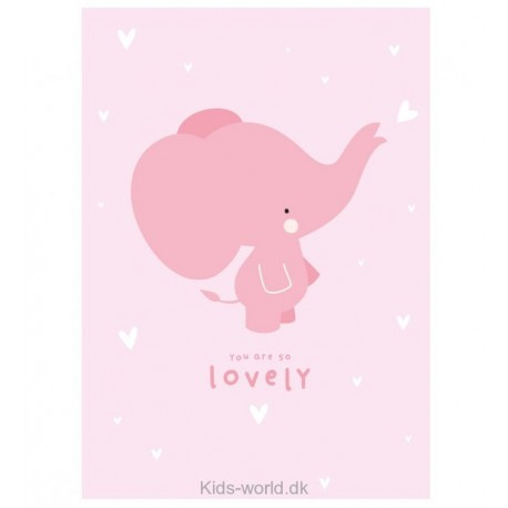 You are so lovely - A Little Lovely Company plakat