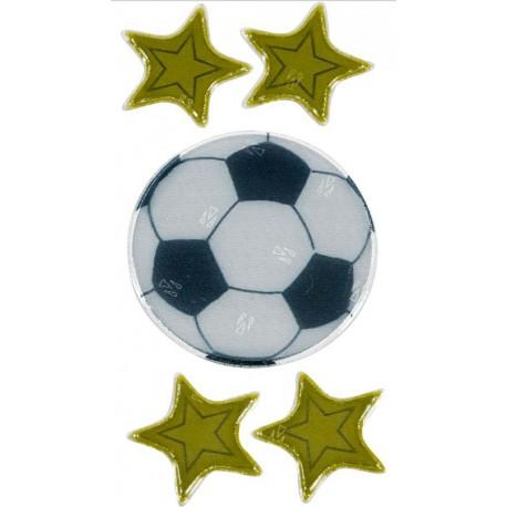 Fodbold og stjerner - Refleks mærker - Die spiegelburg