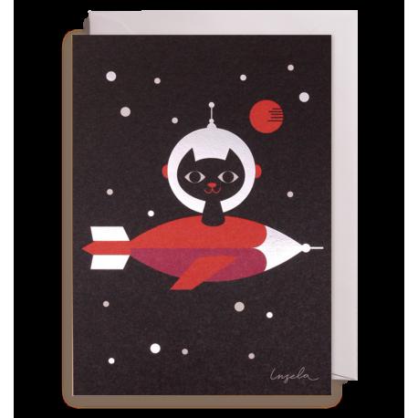 Kat i rummet kort - Ingela P. Arrhenius