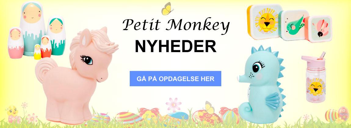 Se Petit Monkey nyheder her!